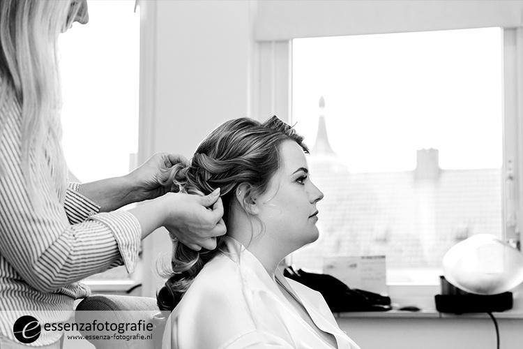 Voorbereiding bruid Hasselt