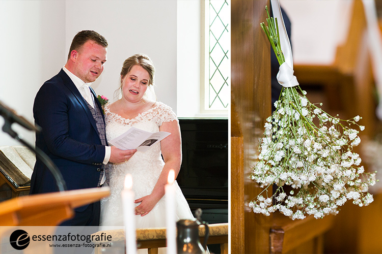 Kerkdienst bruidspaar Hasselt