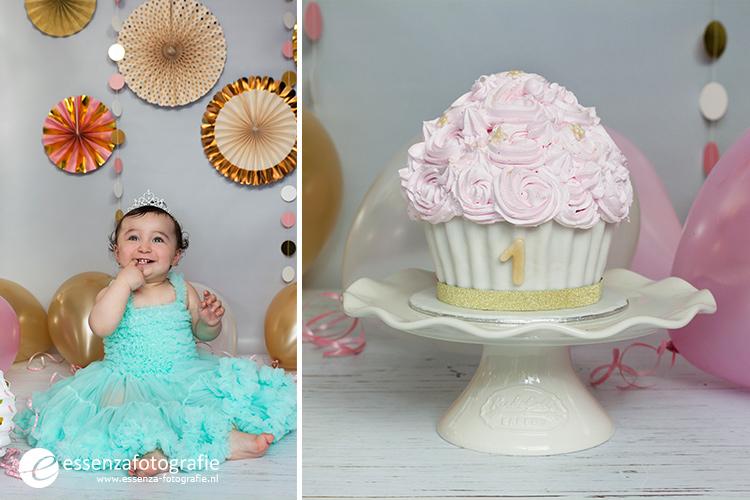 Cake smash fotoshoot Emmen