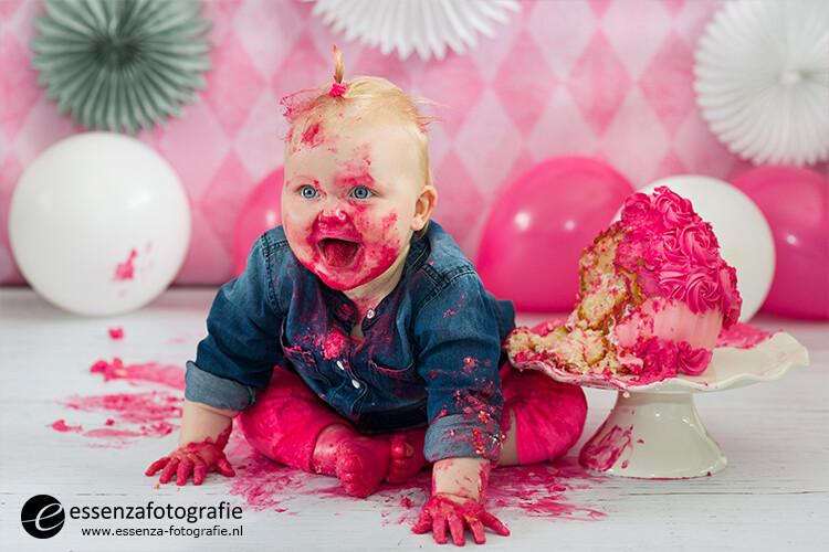 Cake Smash Fotoshoot Nieuwleusen