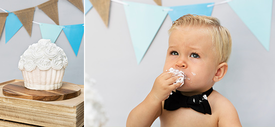 Cake smash fotoshoot Wezep
