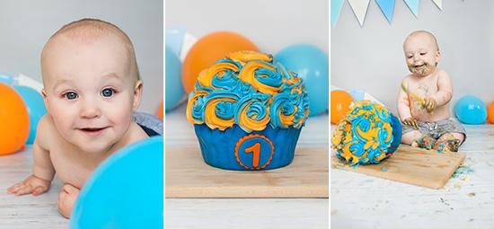 cake smash fotoshoot jongen