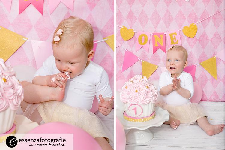 cake smash fotoshoot meisje