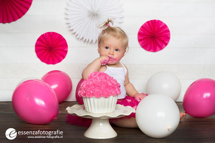 Cake smash fotoshoot Hardenberg