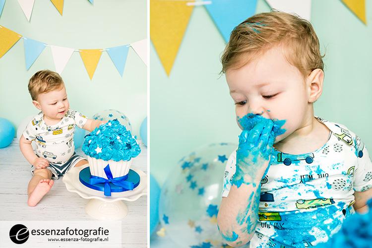 cake smash fotoshoot Zwolle