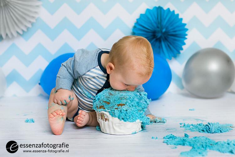 cake smash fotoshoot vaassen