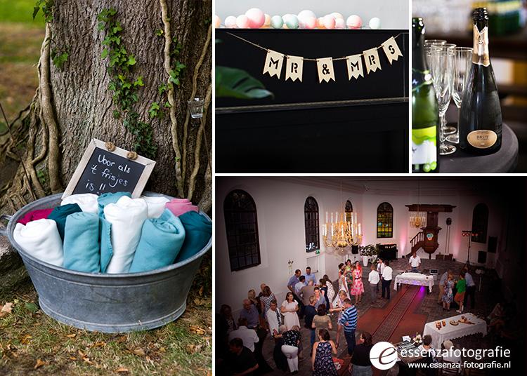 Feest bruiloft Koloniekerkje