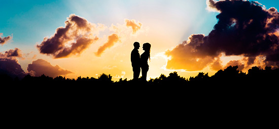 zonsondergang loveshoot