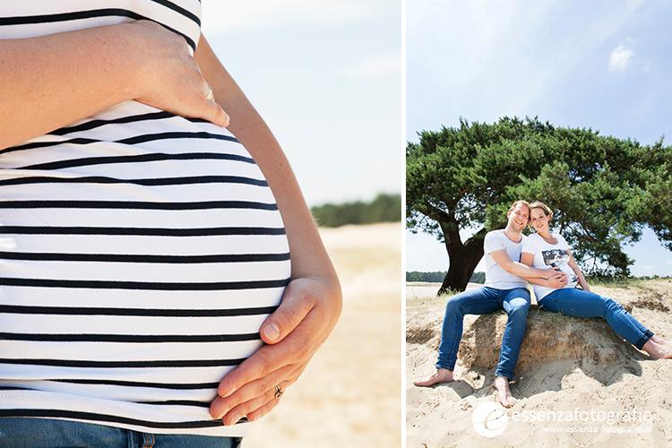 Zwangerschapsfotoshoot 't Harde